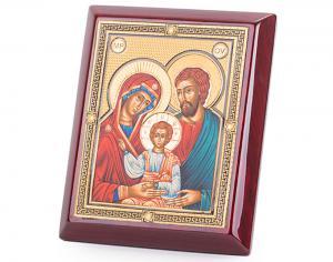 Icoana Sfânta Familie, by Credan placata cu aur - made in Spain0