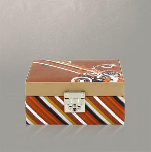 Cutie pentru Bijuterii Diagona L Maro de la Friedrich – Produs în Germania1