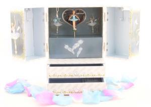 Cutie Muzicală Bijuterii Balerină Bleu&  Pandantiv 20 mm Blue Star6