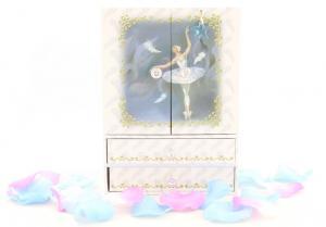 Cutie Muzicală Bijuterii Balerină Bleu&  Pandantiv 20 mm Blue Star7