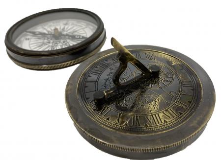 Pirates of the Seas: macheta corabie pirati, luneta functionala, busola + ceas solar functionale [3]