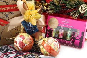 Cadou Crăciun Gold Lady2