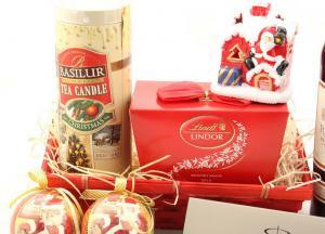 Coş Cadou Craciun Red Santa2