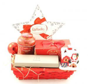 Coş Cadou Crăciun Business Red Christmas0