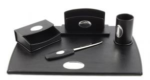 Cadou Set de Birou Corporate Leather by Valenti - Made in Italy3