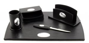 Cadou Set de Birou Corporate Leather by Valenti - Made in Italy2