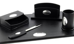 Cadou Set de Birou Corporate Leather by Valenti - Made in Italy4