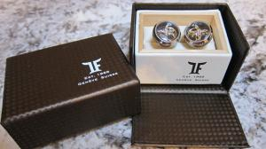 Butoni TF Est. 1968 Tourbillon Luxury - Placaţi cu aur roz - Made in Switzerland6