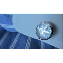 Set Butoni Tourbillon Luxury Silver si Note pad Black Hugo Boss - personalizabil6