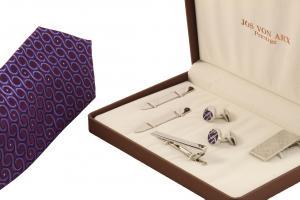 Cadou Purple & Silver Accessories by Jos Von Arx1