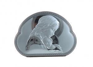 Icoană Argint Maica Domnului by Valenti - Made in Italy1