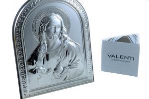 Icoană Argint Iisus Hristos by Valenti - Made in Italy0