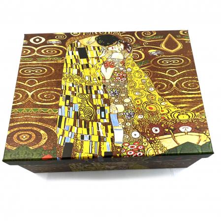 Cadou 2 Cani Kiss by Gustav Klimt [3]
