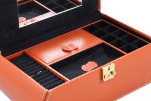 Cutie Bijuterii Leather Orange by Friedrich - Made in Germany1