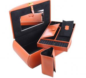 Cutie Bijuterii Leather Orange by Friedrich - Made in Germany5