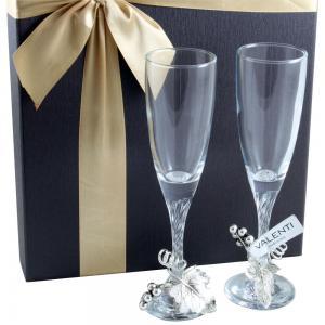 Pahare Şampanie Vineyard by Valenti - Made in Italy0