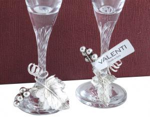 Pahare Şampanie Vineyard by Valenti - Made in Italy5
