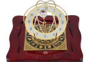 Set Ceas Zodiac Gold Plated by Credan si Butoni Gold Round by Credan1