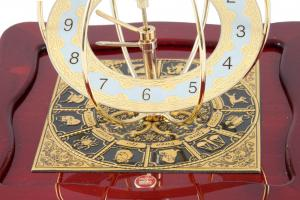 Set Ceas Zodiac Gold Plated by Credan si Butoni Gold Round by Credan2