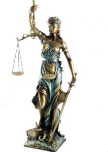 Zeiţa Justiţiei 48 cm