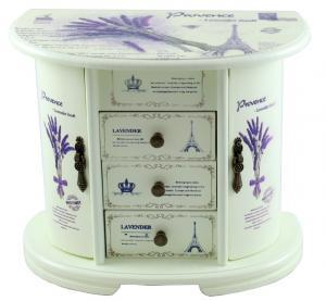Cutie Bjuterii Lemn Provence0