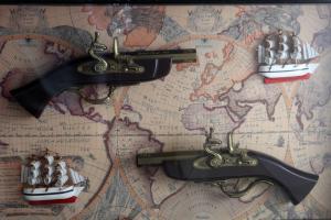 Tablou Guns & Boats3