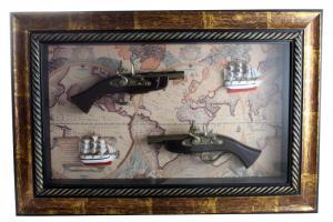 Tablou Guns & Boats0