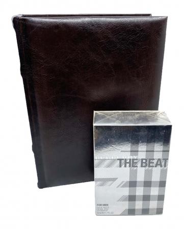 Burberry The Beat for Men + Cutie cadou din piele maro [0]