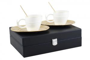 Gold Coffee Set for Two Chinelli - made in Italy3