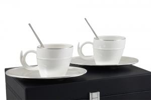 Silver Coffee Set for Two Chinelli - made in Italy5