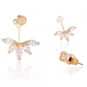 Cercei Borealy Crystal Gold Anchor1
