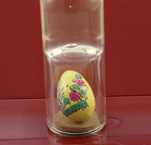 Sticlă Ou Paşte - lucrată manual1