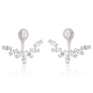 Cercei Borealy Crystal White Anchor