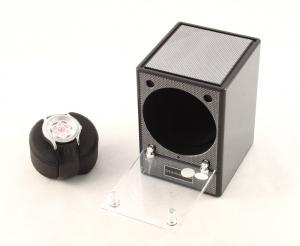 Automatic Watch Winder Piccolo Carbon by Designhutte - Made in Germany2