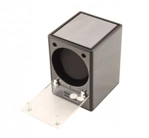 Automatic Watch Winder Piccolo Carbon by Designhutte - Made in Germany4