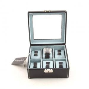 Set Cutie 6 Ceasuri Bond Glass by Friedrich si Note Pad Black Hugo Boss - personalizabil3
