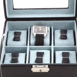 Set Cutie 6 Ceasuri Bond Glass by Friedrich si Note Pad Black Hugo Boss - personalizabil4