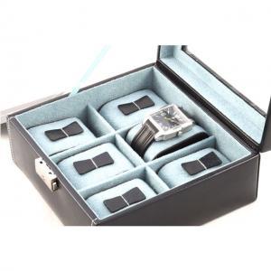 Set Cutie 6 Ceasuri Bond Glass by Friedrich si Note Pad Black Hugo Boss - personalizabil6