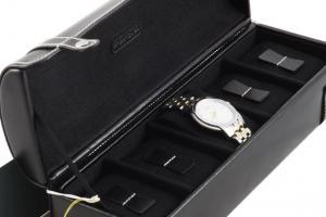 Set Cutie 5 Ceasuri Piele Naturală By Friedrich, seria Collector London Leather si Note Pad Black Hugo Boss6