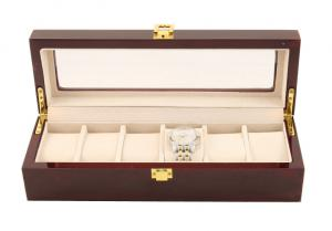 Cutie 6 Ceasuri Lemn Luxury - personalizabil0