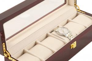 Set cutie 6 Ceasuri Lemn Luxury si Note pad Hugo Boss - personalizabil5