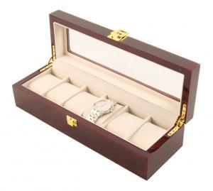 Cutie 6 Ceasuri Lemn Luxury - personalizabil2