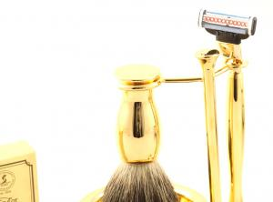 Gold Plated Luxury Shaving Set by Erbe Solingen, made in Germany8
