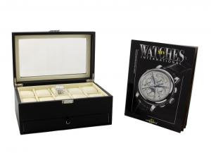 Cadou Black Watches Box & WATCHES International1
