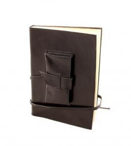 Cadou Parker & Black Leather Notebook piele naturala3