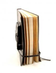 Cadou Parker & Black Leather Notebook piele naturala5