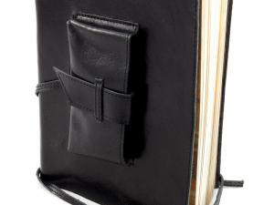 Cadou Parker & Black Leather Notebook piele naturala6