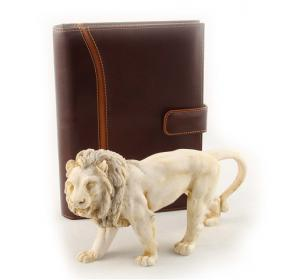 Leo & Brown Leather Notebook0