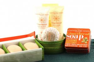 Christmas Gingerbread Aroma - Scottish Fine Soaps1