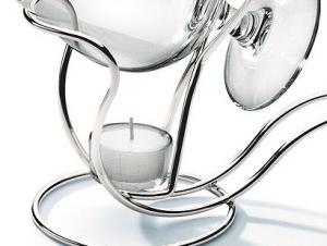 Incalzitor placat cu argint pentru cognac Chinelli1